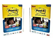 "Post it Semi Gloss Super Sticky 4""X 6"" Picture Paper Bundle"