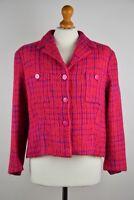 * Kenzo Jungle Women's Wool Jacket Size 42 UK 14 IT 46