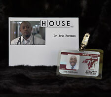 TV SERIES HOUSE MD EXACT REPLICA PROP ERIC FOREMAN-DEAN OF MEDICINE HOSPITAL ID