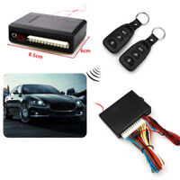 Auto Electronic Remote Control Central Door Open Key Entry System Locking 2 Pcs