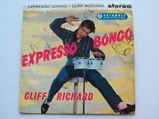 CLIFF RICHARD  196O    EXPRESS BONGO   UK STEREO E P   STEREO PRESSING