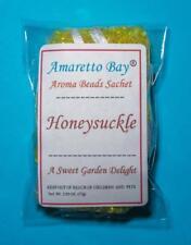 Honeysuckle Scented Aroma Beads Sachet Air Freshener Home Car Drawer - 1 oz.