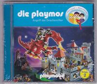 Die Playmos - Folge 02 - Angriff der Drachenritter CD NEU, OVP