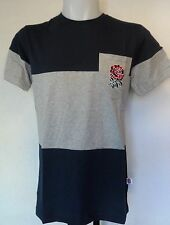 ENGLAND RUGBY NAVY/MARL UGLIES COTTON TEE SHIRT BY CANTERBURY SIZE SMALL NEW