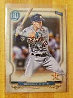 2020 Topps Gypsy Queen SP Photo Variation Jackie Robinson Day Alex Bregman #200