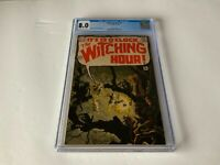 WITCHING HOUR 3 CGC 8.0 HORROR BERNIE WRIGHTSON DC COMICS 1969