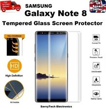 Full Edge to Edge Screen Protection Tempered Glass 9H For Samsung Note 8 CLEAR