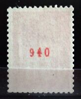 """FRANCE STAMP TIMBRE 1664b """" MARIANNE BEQUET 50c AVEC NUMERO ROUGE """" NEUF xx LUXE"""