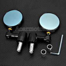 "7/8"" Bar End CNC Side Mirrors For Triumph Bonneville America T100 SE Thunderbird"