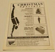 Ca. 1980? BERRY SCUBA Christmas Specials Brochure Vintage