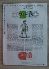 Collection historique du timbre poste 27 avril 2002, coupe du monde foot.