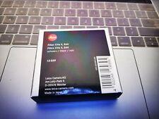 Leica UVa filter e60 II black 0.95 # 13039