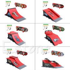 Skate Park Ramp Parts A-F for Tech Deck Fingerboard Finger Board Ultimate Parks