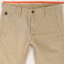Mens G-Star BRONSON SLIM CHINO Stretch Grey Jeans W32 L34