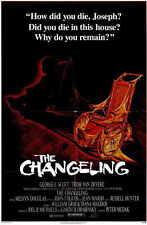THE CHANGELING Movie POSTER 11x17 George C. Scott Trish Van Devere John Russell