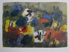 Klaus Fussmann spitzen Farblithographie, teilweise von Fussmann handcoloriert
