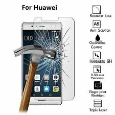 100% New Genuine Tempered Glass Screen Protector Film For Huawei P8 Lite
