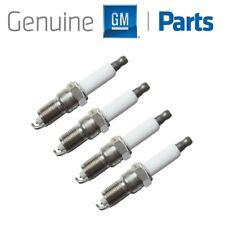 For GMC Envoy XUV Savana Yukon XL Sierra V8 Set of 4 Spark Plug GM Genuine OEM