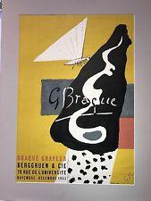 Georges Braque Exhibition Poster (Braque Graveur)