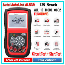 Autel AL539 OBD2 Engine Universal Car Code Reader Scanner Diagnostic Reset Tool