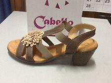 ladies sandal Cabello 3505 dk taupe size 37/6