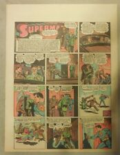 Superman Sunday Page #185 by Siegel & Shuster from 5/16/1943 Tab Page:Year #4!