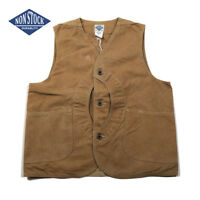 NON STOCK Duck Canvas Game Pocket Vest Vintage Outdoor Men's Hunting Jacket 44