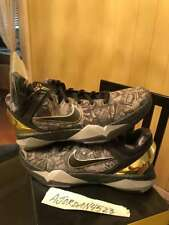 Nike Air Zoom Kobe Prelude System 7 VII Black Grey Gold Sz 9.5 New DS Never Worn