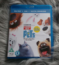 Blu-Ray - The SECRET LIFE of PETS - Animated Film - VGC - R2