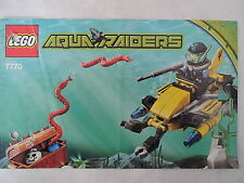 LEGO Bauanleitung / Instruction Aqua Raiders 7770