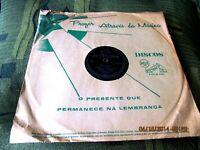 LOT 2 78 RPM BRAZIL CARLOS GONZAGA IN PORTUGUESE The Diary LITTLE DEVIL SEDAKA
