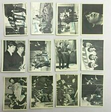 The Beatles Complete Topps 1964 B/W 3Rd Series full set 116-155 Mid Grade