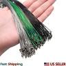 Super Strong Nylon Monofilament Swivel Hooks Fishing Line Steel Wire Leader Hook