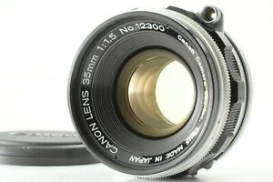 【 EXC+5 】 Canon 35mm f1.5 Leica Screw Mount LTM L39 Lens From Japan #286