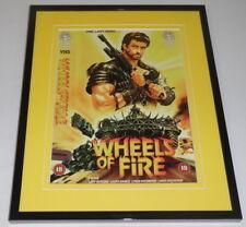 Wheels of Fire Framed 8x10 Repro Poster Display Gary Watkins Laura Banks