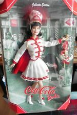 NEUF - Barbie Coca Cola Collection Cheerleader Majorette 2001 Mattel Collector
