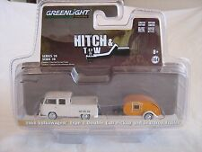 2017 GreenLight Hitch & Tow Series '68 VW Double Cab Pickup & Teardrop Trailer