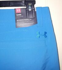 Under Armour Golf Tapered Pants Men's Sz 36×30 NEW BLUE 1253492-787