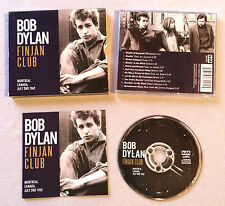 BOB DYLAN - FINJAN CLUB MONTREAL CANADA JULY 2ND 1962 / CD ALBUM BDACD104