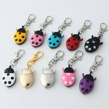 Fashion Ladybug Beetle Pocket Key Rings Clip Animals Watch Party Gifts GL02K