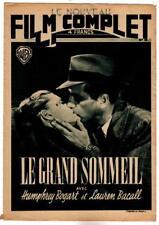 HUMPHREY BOGART,LAUREN BACALL,The Big Sleep ,Cover Le Film complet Magazine,1946