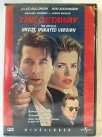 The Getaway (DVD, 1998, Widescreen) Alec Baldwin, Kim Basinger / Region 1