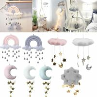 Nursery Style Moon Cloud And Star Baby Bed Mobile Room Hanging Decor Accessory