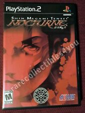 """NTSC PS2 Game """"Nocturne - director's cut"""", sehr gut, inkl. Manual"""