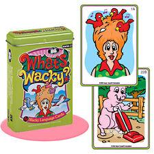 What's Wacky Flash Cards Super Duper Fun Deck Speech Language ESL Autism Therapy