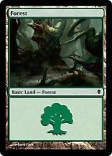 20 Basic Land #247a - SAME ART - Forest - Zendikar - SP/NM - Magic MTG FTG