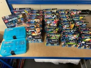 Huge Lot Of 28 Lego Dimensions Sets All In Original Boxes Some Rare Plus Storage