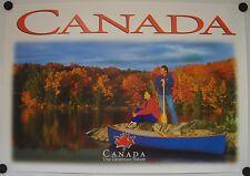 Affiche CANADA Une Généreuse Nature - Tourisme