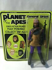 Mego  PLANET OF THE APES URSUS  Action Figure 1967 original card UNPUNCHED