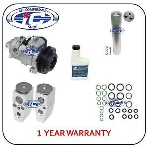 A/C Compressor Kit Fits Ford Mustang 2011-2014 V6 3.7L OEM DKS17D 157486